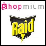 Offre de Remboursement Shopmium : 2 Offres Raid Diffuseurs Anti-Moustiques à découvrir pour 3,50€ - anti-crise.fr