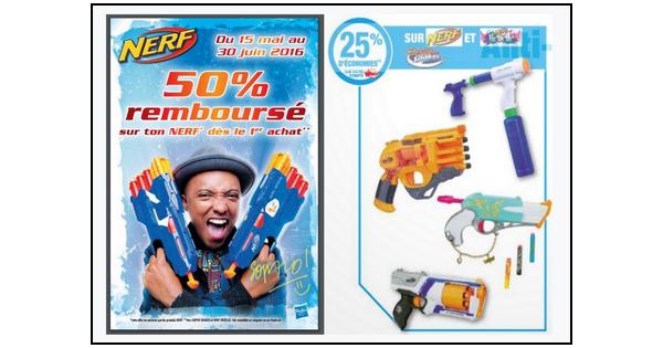 Bon Plan Nerf : -75% sur la Gamme chez Auchan - anti-crise.fr
