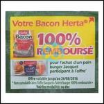 Offre de Remboursement Herta : Votre Bacon 100% Remboursé pour l'achat d'un Pain Jacquet - anti-crise.fr