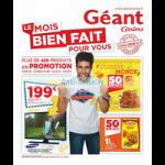 Catalogue Géant Casino du 1er au 11 juin