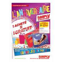 Anti crise catalogue simply market du 25 mai au 5 juin - Www simplymarket fr catalogue ...