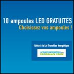 Bon Plan Ampoules Gratuites avec la Loi Transition Energétique - anti-crise.fr