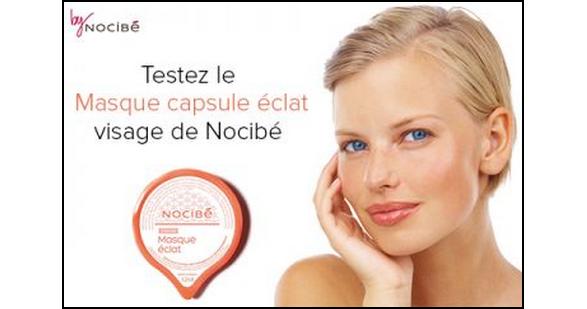 Test de Produit Miss Test : Masque capsule éclat de Nocibé - anti-crise.fr