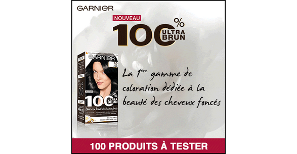 test de produit beaut test coloration permanente 100 ultra brun de garnier. Black Bedroom Furniture Sets. Home Design Ideas