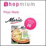 Offre de Remboursement Shopmium : Pizzas Pâte Fine Marie à Découvrir pour 2€ - anti-crise.fr
