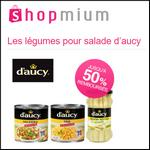 Offre de Remboursement Shopmium : Jusqu'à 50% sur les Légumes pour Salade D'Aucy - anti-crise.fr