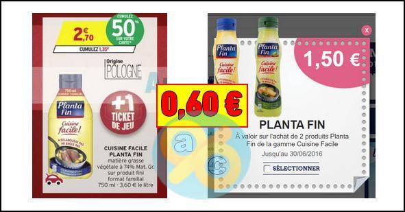 Bon Plan Planta Fin Cuisine Facile A 0 60 Chez Intermarche