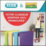 Offre de Remboursement Bureau Vallée : Classeurs Memphis - 100% Remboursé - anti-crise.fr