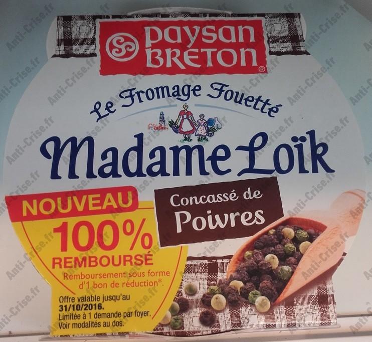 Offre de Remboursement Paysan Breton : Madame Loik Concassé de Poivres 100% Remboursé en 1 Bon - anti-crise.fr