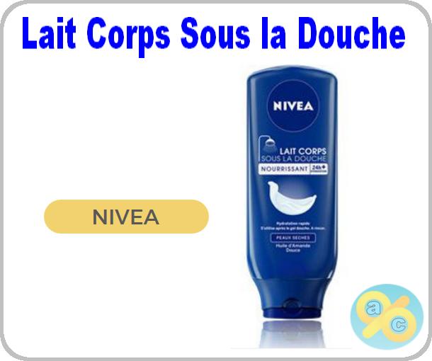 Tests de produits nivea lait corps sous la douche - Lait corps sous la douche ...
