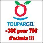 Bon Plan Toupargel : - 30€ pour 70€ d'Achats + Livraison Offerte dès 25€ !! - anti-crise.fr