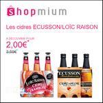 Offre de Remboursement Shopmium : Les cidres Ecusson/Loïc Raison à essayer pour 2€ - anti-crise.fr