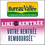 Offre de Remboursement Bureau Vallée : 2ème Produit 100% Remboursé - anti-crise.fr