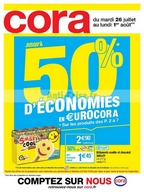 Catalogue Cora du 26 juillet au 1er août