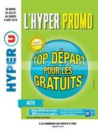 Catalogue Hyper U du 26 juillet au 6 août