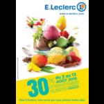 Catalogue Leclerc du 3 au 13 août (Centre-Est)
