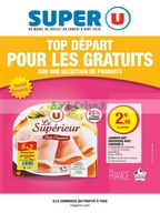 Catalogue Super U du 26 juillet au 6 août