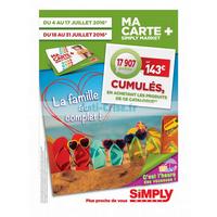 Anti crise catalogue simply market du 4 au 17 juillet - Www simplymarket fr catalogue ...