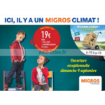 Catalogue Migros du 16 août au 4 septembre