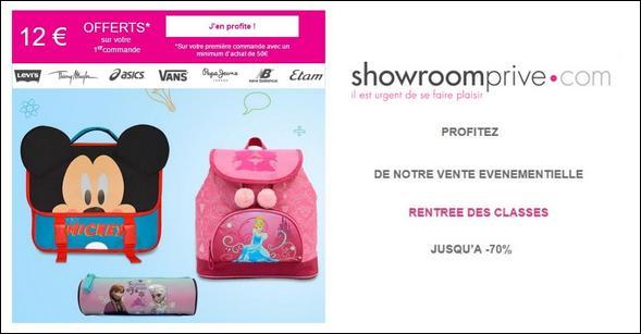 Bon Plan Showroom Priv Jusqu 74 Sur La Rentr E 12