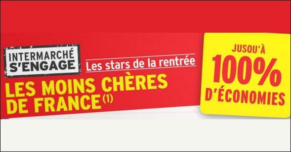 Bon Plan Intermarché : Fournitures Scolaires 100% Remboursées 3ème Vague - anti-crise.fr