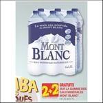 Bon Plan Eau Mont Blanc chez Carrefour - anti-crise.fr