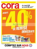 Catalogue Cora du 23 au 29 août