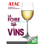 Catalogue Atac du 7 au 18 septembre