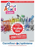 Catalogue Carrefour du 9 août au 5 septembre