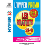 Catalogue Hyper U du 23 août au 3 septembre