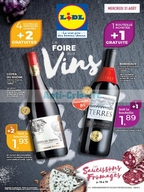 Catalogue Lidl du 31 août au 6 septembre