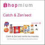 Offre de Remboursement Shopmium : Jusqu'à 50% sur Catch & Zen'sect - anti-crise.fr