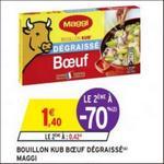 Bon Plan Bouillon Kub Boeuf Maggi chez Intermarché - anti-crise.fr