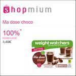 Offre de Remboursement Shopmium : Ma dose choco Weight Watchers 100% Remboursé (à débloquer) - anti-crise.fr