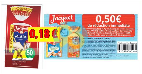Bon Plan Jacquet : Maxi Jac' Nature à 0,18€ chez Intermarché - anti-crise.fr