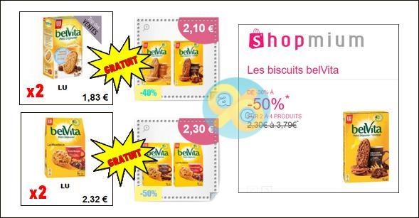 Bon Plan belVita Petit Déjeuner : 2 Biscuits Classiques + 2 Biscuits Moelleux Gratuits Partout - anti-crise.fr