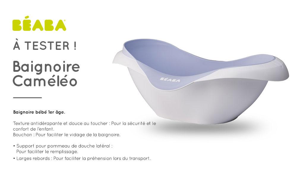 test de produit consobaby baignoire cameleo de beaba. Black Bedroom Furniture Sets. Home Design Ideas