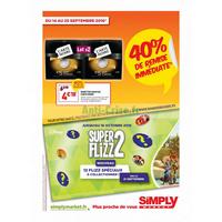 Catalogue promo simply market
