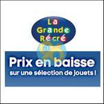 Bon Plan La Grande Récré : Jusqu'à -70% sur les Jouets - anti-crise.fr