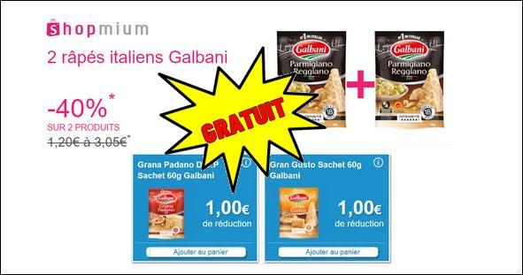 Bon Plan Galbani : Râpés Italiens Gratuits Partout - anti-crise.fr