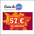 Bon de Réduction Envie de Plus : Super Réductions à partir du 18 Octobre !! - anti-crise.fr