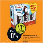 Bon Plan Kinder : Pingui à 0,14€ chez Intermarché - anti-crise.fr