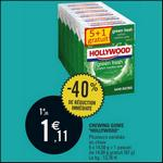 Bon Plan Hollywood : 2 Lots de 6 Paquets de Chewing-gums Gratuits chez Leclerc - anti-crise.fr