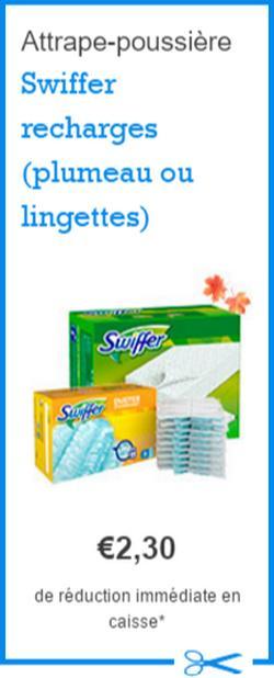 Bon plan lingettes ou plumeau swiffer chez leclerc - Bon reduction febreze ...