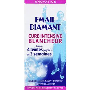 tests de produits email diamant dentifrice cure intensive blancheur. Black Bedroom Furniture Sets. Home Design Ideas