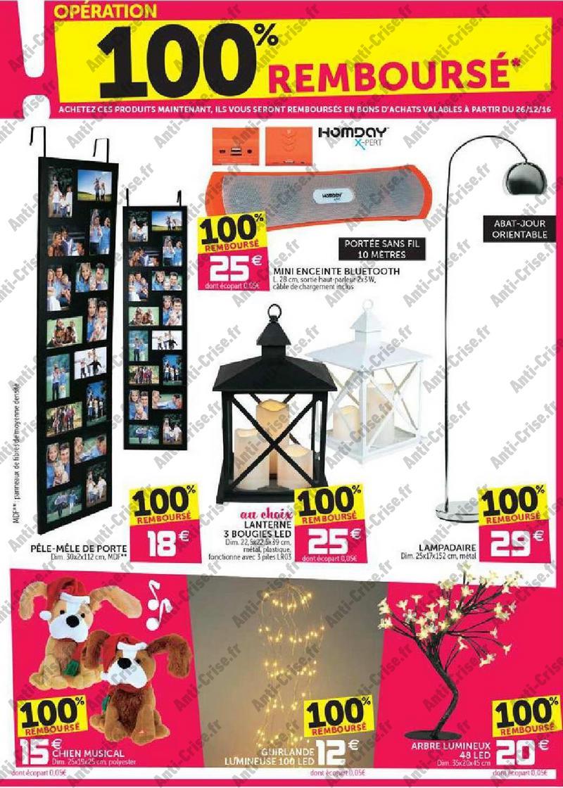 offre de remboursement gifi une s lection de produits 100 rembours en bon. Black Bedroom Furniture Sets. Home Design Ideas