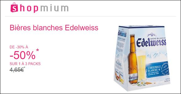 Coupons reductions edelweiss