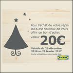Bon Plan Ikea : Recevez 20€ en bon d'achat pour l'achat d'un Sapin - anti-crise.fr