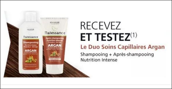 Test de Produit Léa Nature : Duo Soins Capillaires Argan - anti-crise.fr