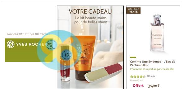 Bon Plan Yves Rocher Cadeau Du Mois 1 Parfum Fdp Offerts Dès